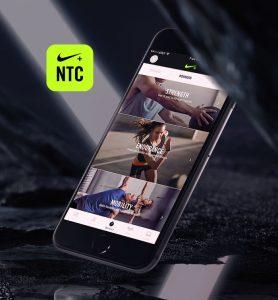 Application mobile NTC Nike Training Club
