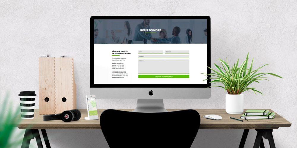 Avoir un site web pour être visible sur internet