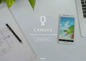 Canvas: Outil de storytelling en publicité sur facebook
