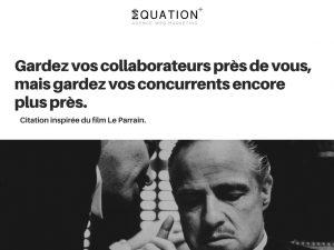 Citation film Le Parrain