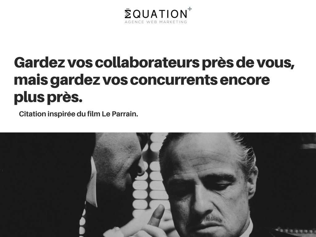 Citation film Le Parrain