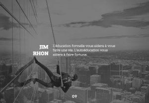 Citations de Jim Rhon
