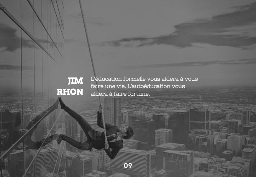 Citations de Jim Rhon