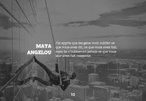 Citation de Maya Angelou