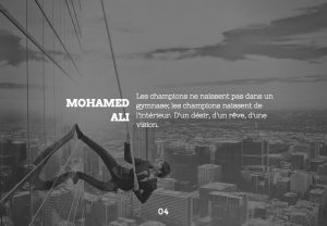 Citation de Mohamed Ali