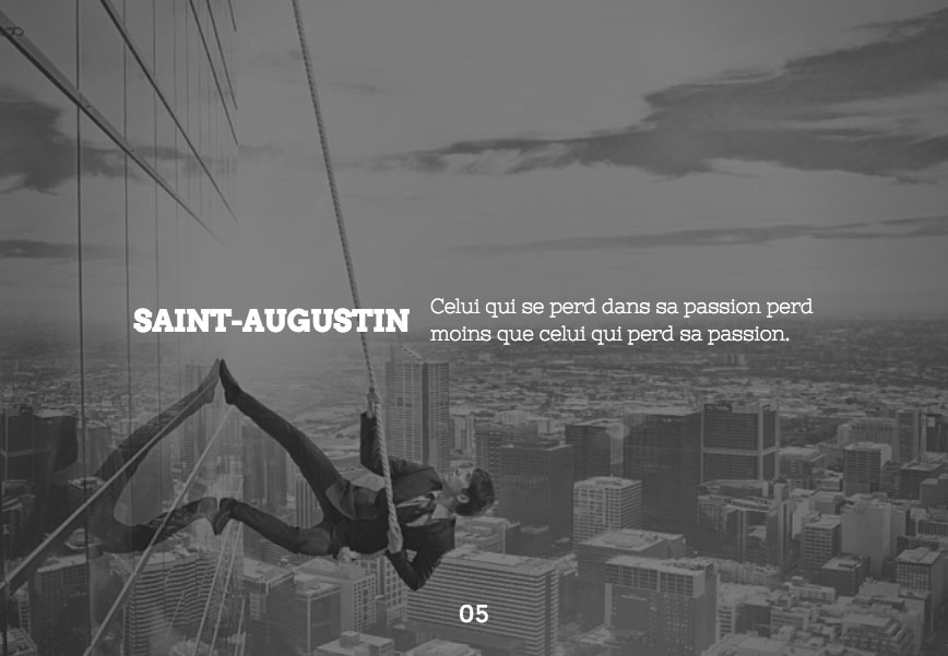 Citation de Saint-Augustin
