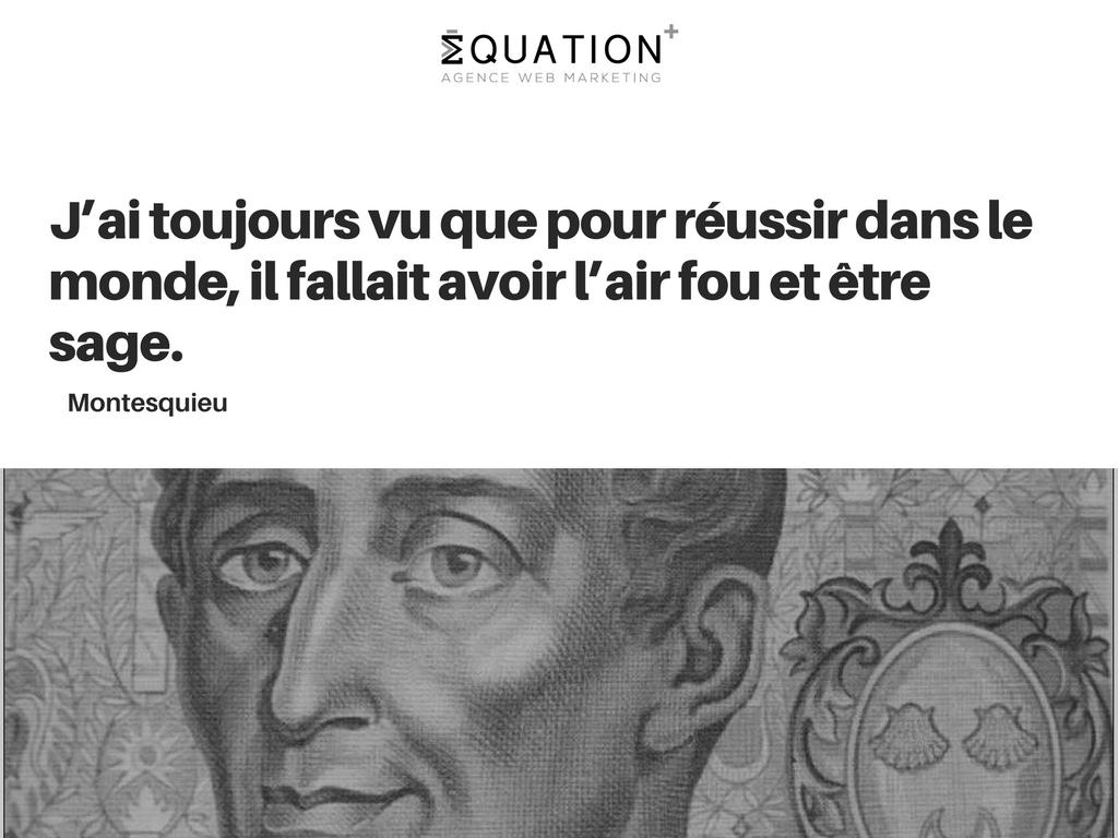 Citation de Montesquieu