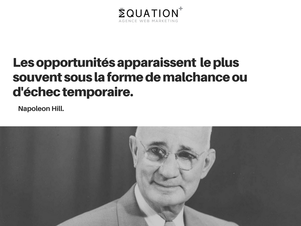 Citation de Napoleon Hill