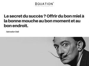 Citation motivante de Salvador Dali