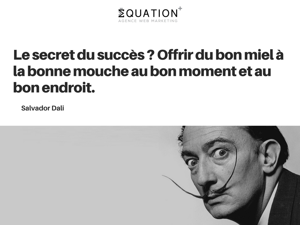 Citation motivante de Salvador Dali