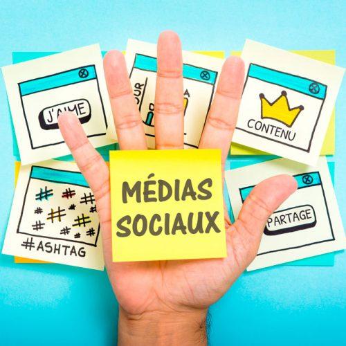 Les médias sociaux dans la stratégie de marketing web