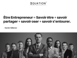 Citation de Xavier Gilleron