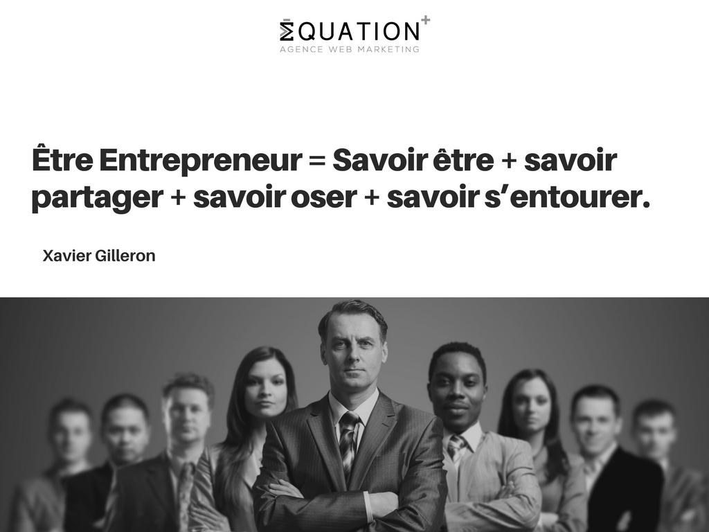 Citation de Xavier Gilleron