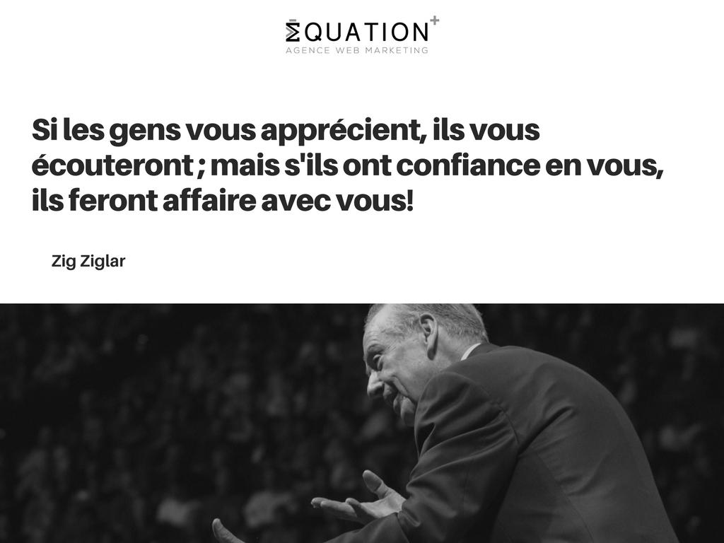 Citation de motivation par Zig Ziglar